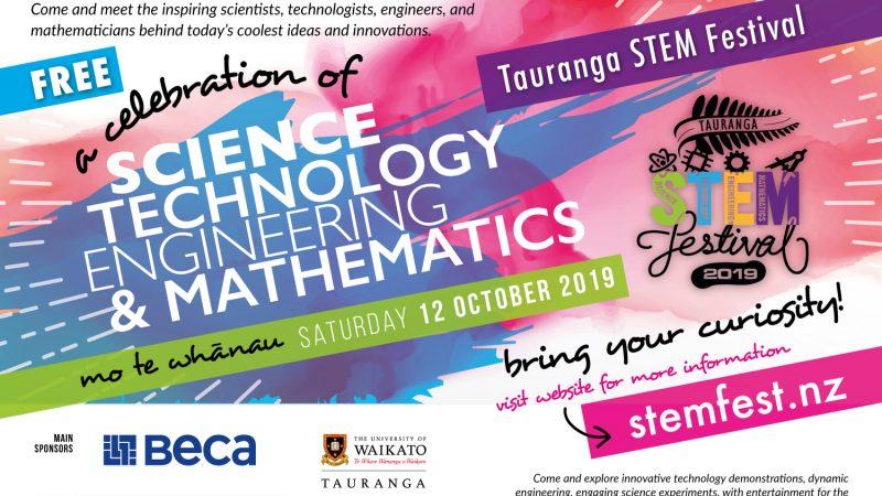 STEMFest Tauranga 2019 - Save the Date
