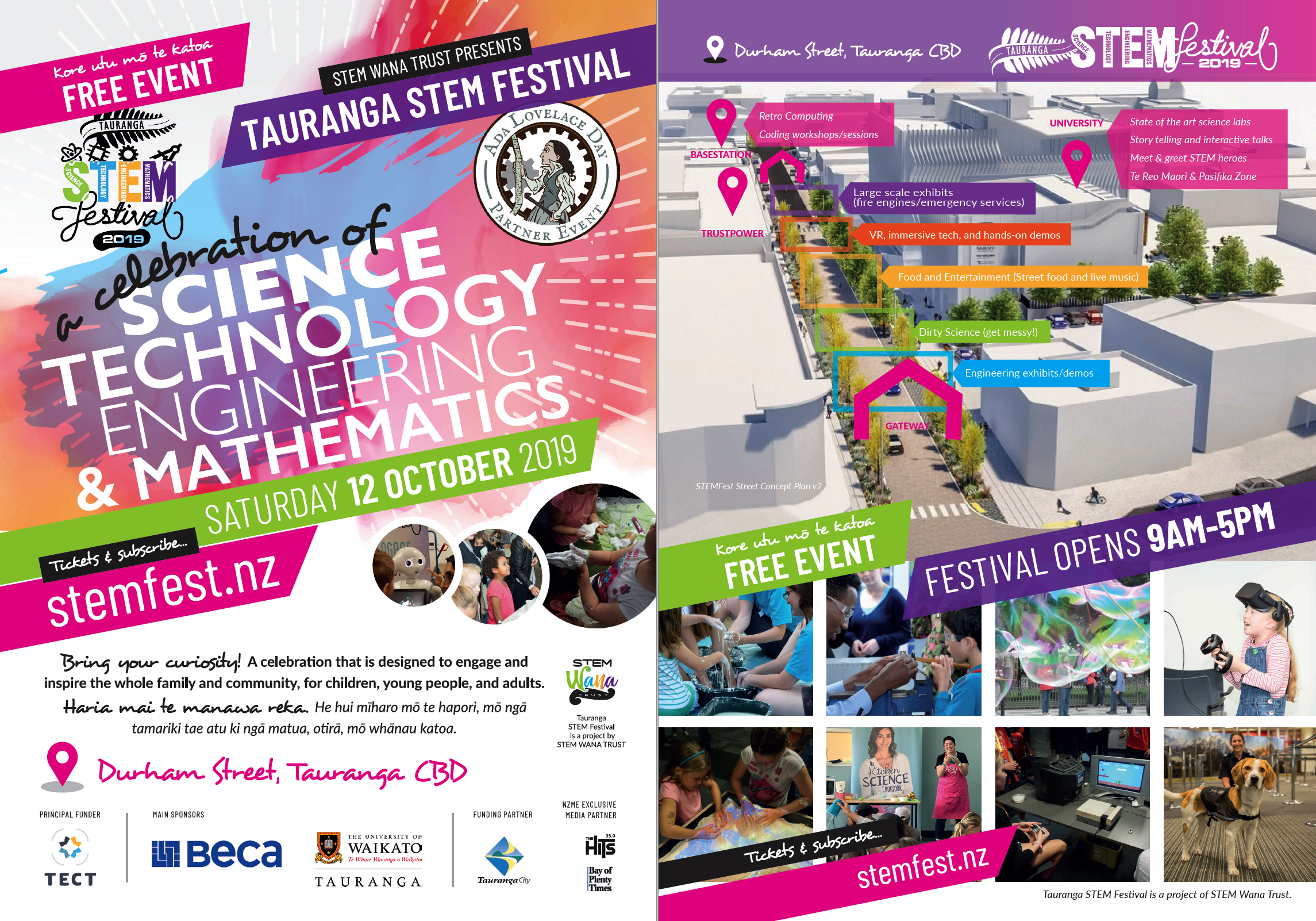 STEMFest Tauranga 2019 Street Concept